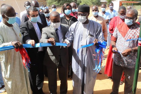 Inauguration of the Magis Covid clinic in Chad