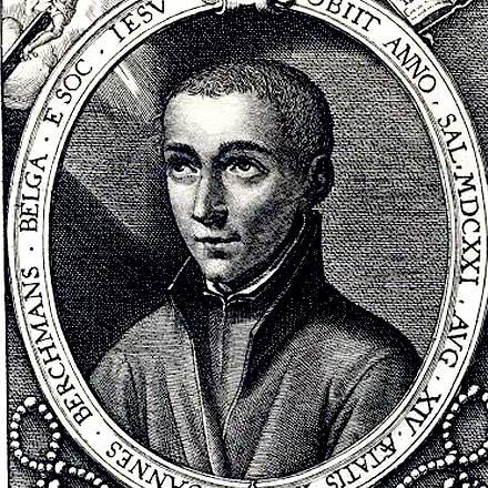 Portrait of Saint John Berchmans (1599-1621)